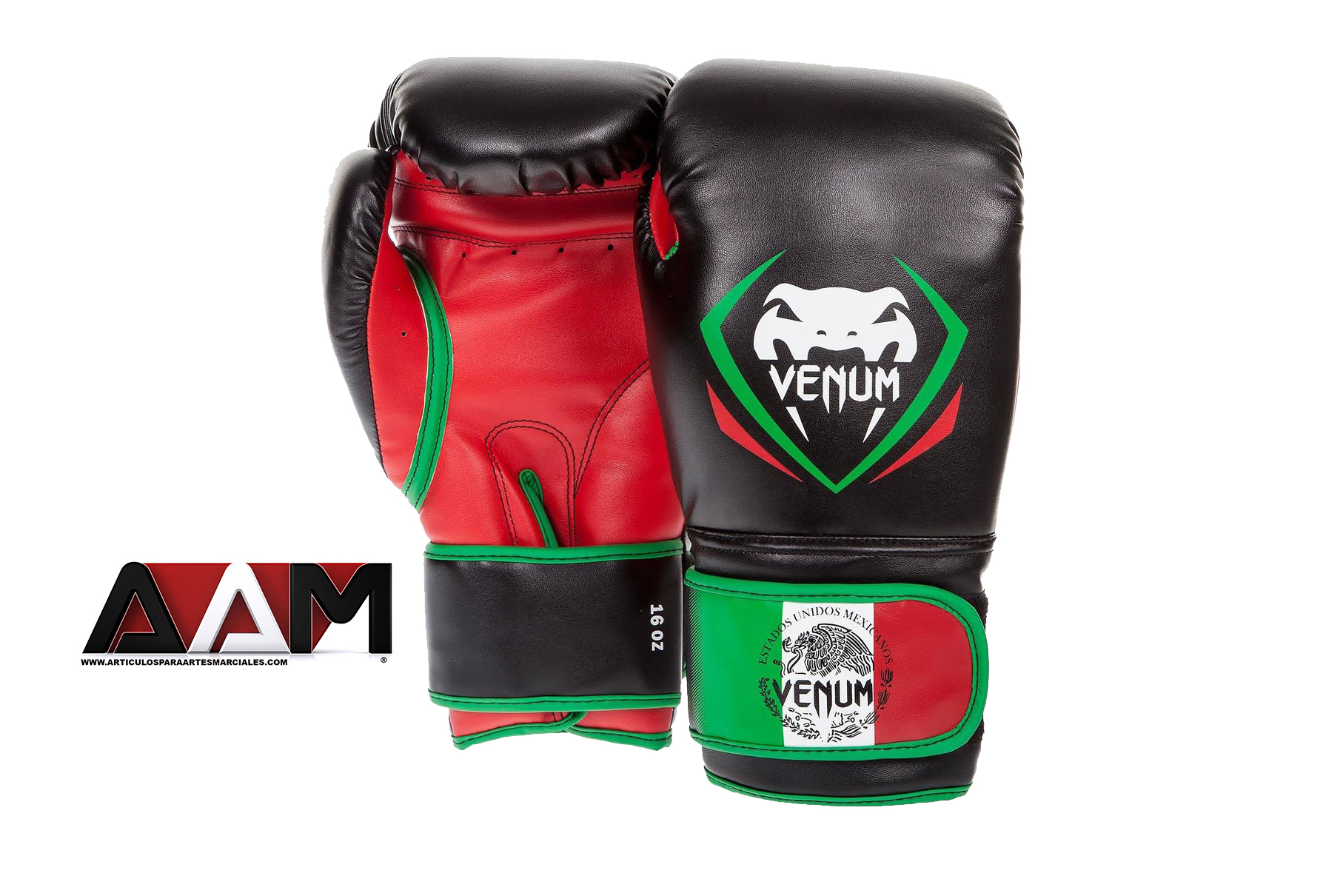 Venum contender series mexico boxing gloves 16 oz