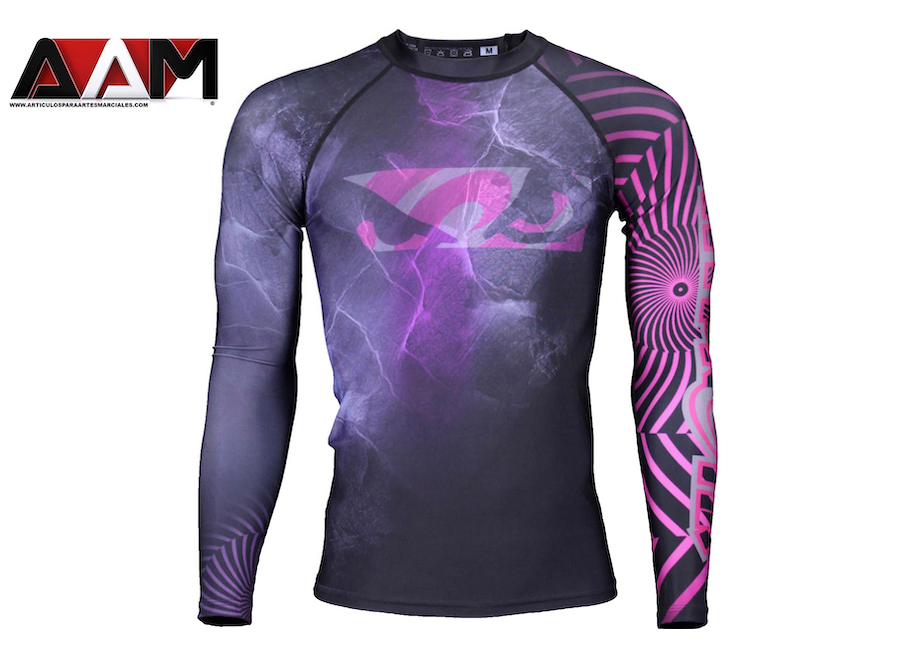 Hypnotik x Bad boy electric rash guard