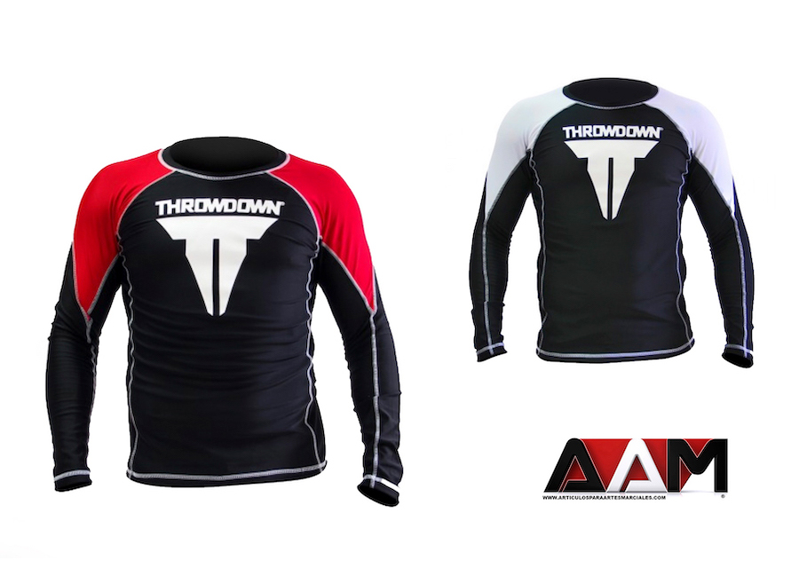 Rash guard Throwdown MMA